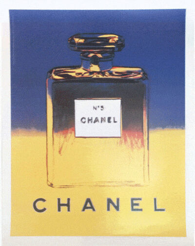 Andy Warhol, 'Chanel N5 (No 5) by Andy Warhol, Blue/Yellow', 1997