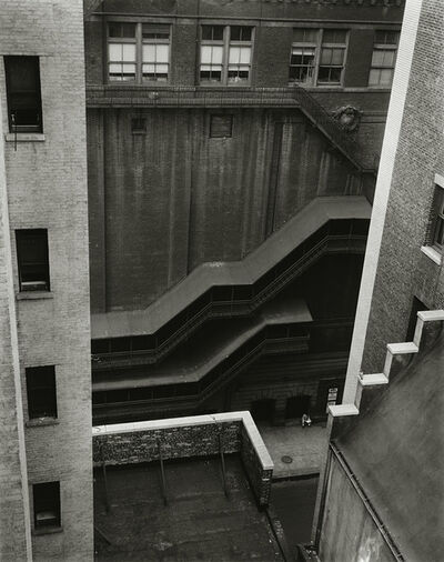 Brett Weston, 'Forty-Seventh Street, New York', 1946-printed 1951