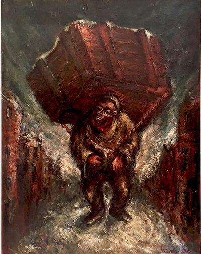 Yosl Bergner, 'BONTCHE SHWEIG', 1941