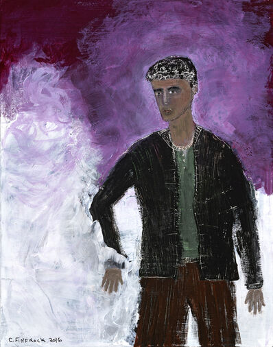 Cheryl Finfrock, 'Purple Prince', 2017