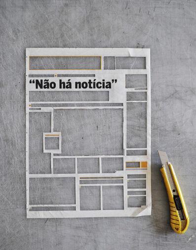 NUNO NUNES- FERREIRA, 'Não há noticias #2', 2016