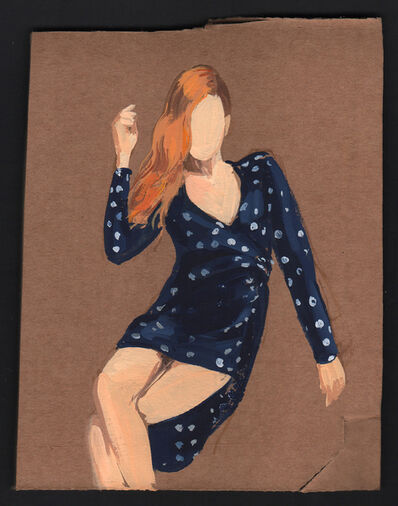 Gideon Rubin, 'Blue Dress', 2021