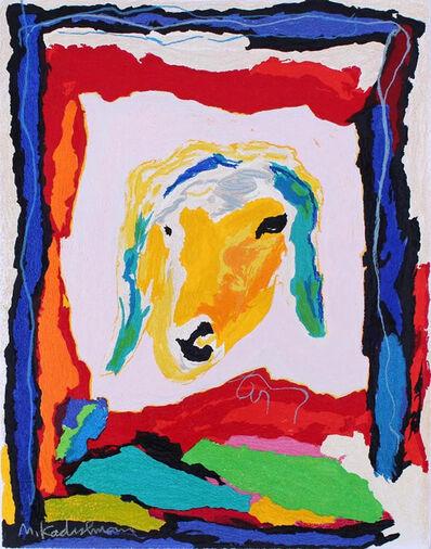 Menashe Kadishman, 'Sheep's Face', 1990