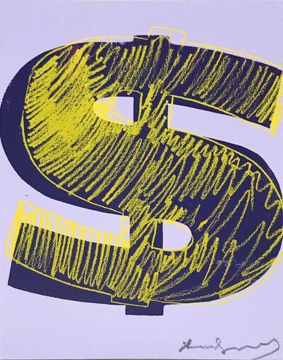 Andy Warhol, '$ (1) II.276', 1982