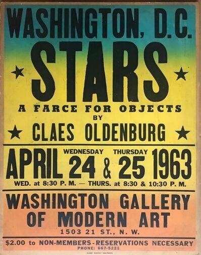 Claes Oldenburg, 'Stars (Cat. Raisonne Ref: 29, Axsom & Platzker, 1997)', 1963