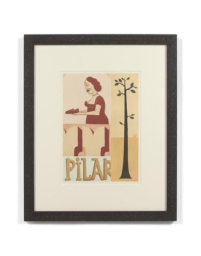 Margaret Kilgallen, 'Pilar', 1999