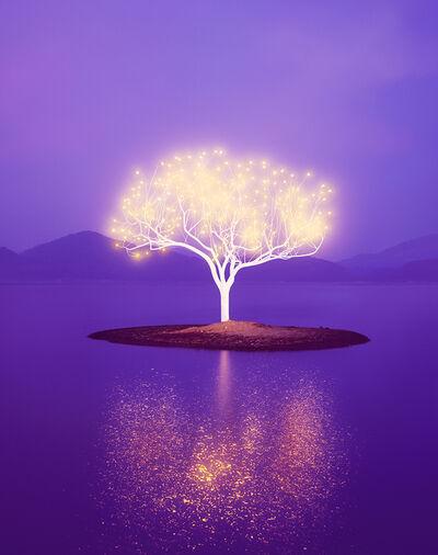 Lee Jeonglok, 'Tree of Life 6-2-6', 2017