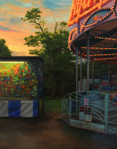 Scott Prior, 'Midway at Sunset', 2013