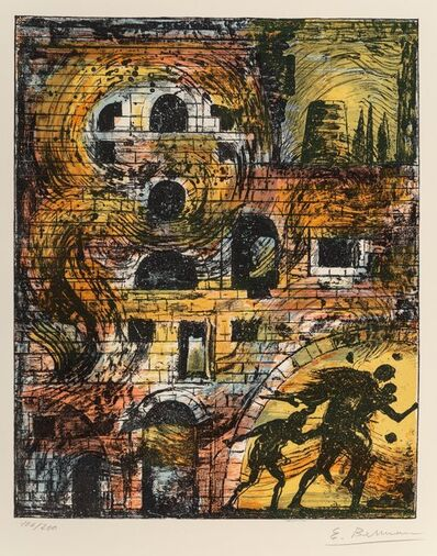 Eugene Berman, 'Untitled, from Flight Portolio', 1967