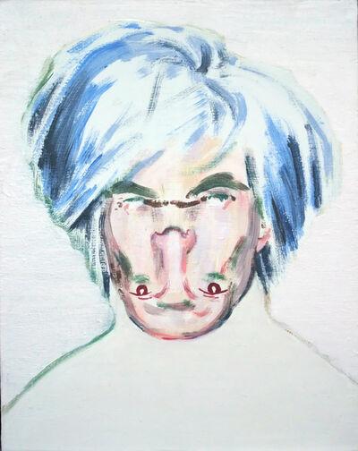 Darren Coffield, 'Shockheaded Warhol I [Study]', 2010