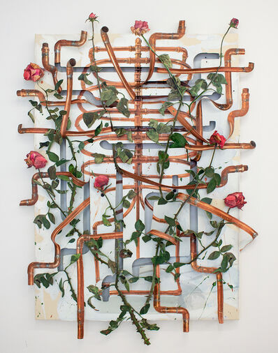 David Kennedy Cutler, 'Rack for January Roses', 2021