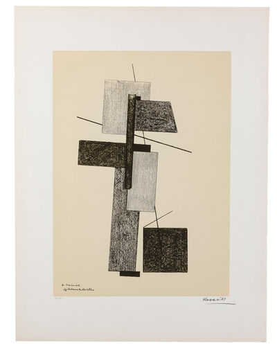 Lajos Kassák, 'Untitled (Abstract)'