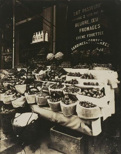 Eugène Atget, 'Rue Sainte-Opportune (Produce Display, rue Sainte-Opportune)', 1908