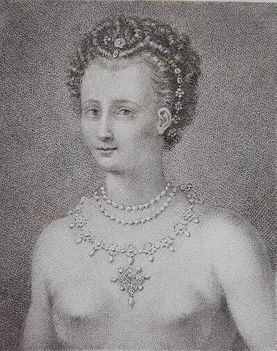 Francesco Bartolozzi, 'Jane Shore', 1807
