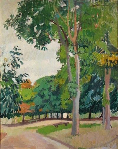 Raoul Dufy, 'Le parc', 1902