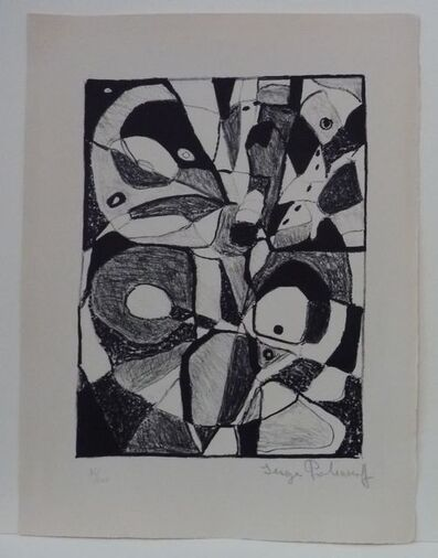 Serge Poliakoff, 'Lithograph in Black', 1946