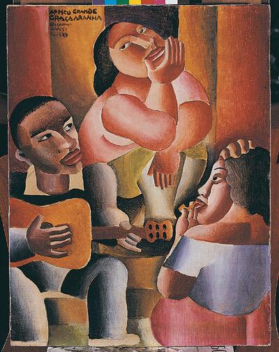 Emiliano Di Cavalcanti, 'Roda da Samba', 1929