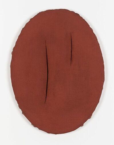 Lucio Fontana, 'Concetto spaziale, I Quanta', ca. 1960