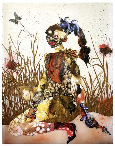 Wangechi Mutu, 'In Killing Fields Sweet Butterfly Ascend', 2003