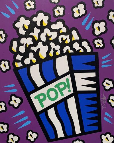 Burton Morris, 'Pop! (Purple)', 2020