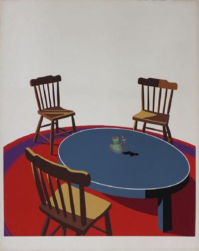 Ken Price, 'Chairs, Table, Rug, Cup', 1971