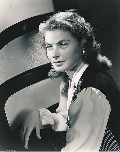 Ernest Bachrach, 'Ingrid Bergman a', 1946