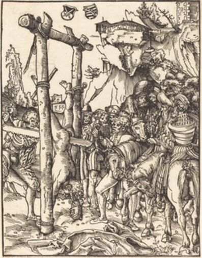 Lucas Cranach the Elder, 'Saint Simon'