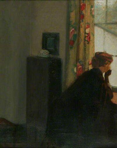William Rothenstein, 'At the Window', ca. 1901