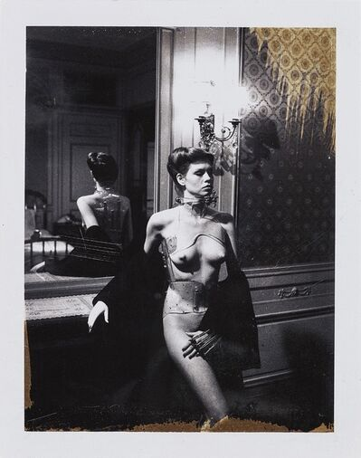 Helmut Newton, 'Jane Kirby, Paris.', 1977