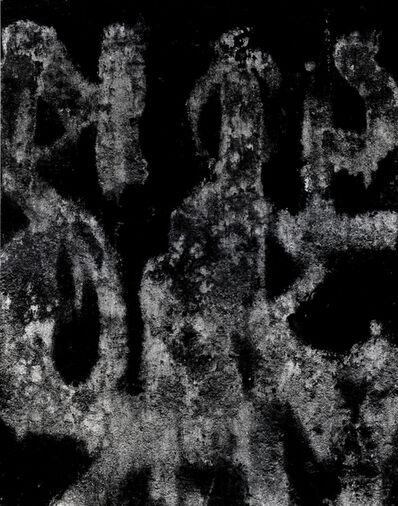 Aaron Siskind, 'Rome Hieroglyph 6', 1963