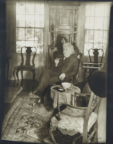Lotte Jacobi, 'Albert Einstein', 1938-printed after
