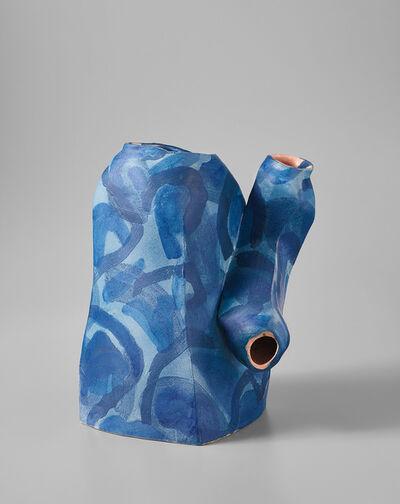 """Alison Britton, '""""Blue Container""""', 2000"""