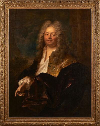 """Attributed To Jacques-François Delyen, '""""Portrait Of A Gentleman""""'"""