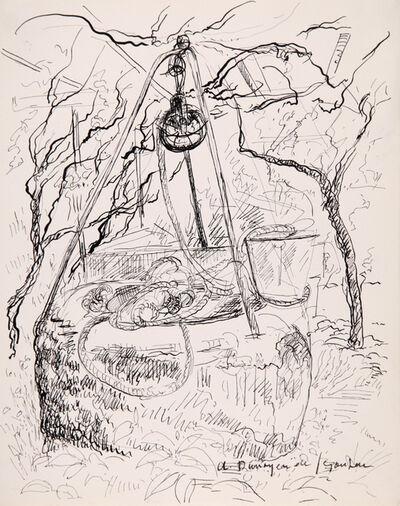 André Dunoyer de Segonzac, 'Puits provencal', 1940