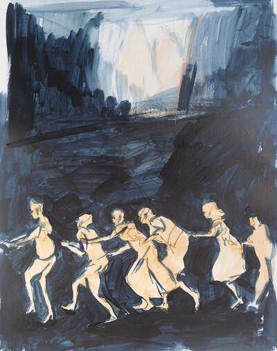 Tina Schwarz, 'Trommeln in der Nacht', 2019