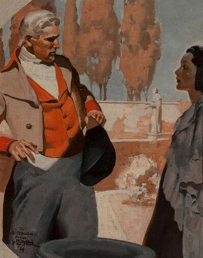 John Philip Falter, 'The Confrontation, 1934', 1934