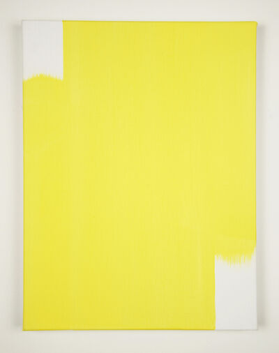 David Thomas, 'When 2 Directions Become All Directions (Light Yellow)', 2015