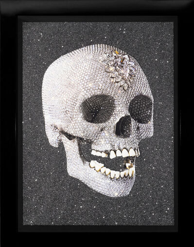 Damien Hirst, ''For The Love of God' Laugh, Skull ', 2007