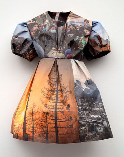 Andrea Lilienthal, 'New York Times Little Dress III', 2018