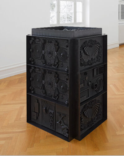 Isabelle Cornaro, 'God Box No. 2', 2013