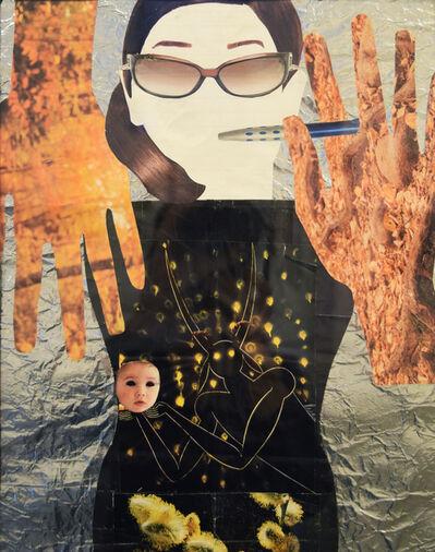 Maybellene Gonzalez, 'Self Portrait in Collage', 2018