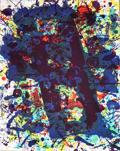 Sam Francis, 'Untitled SF 349, from: Papierski Portfolio', 1973-1984