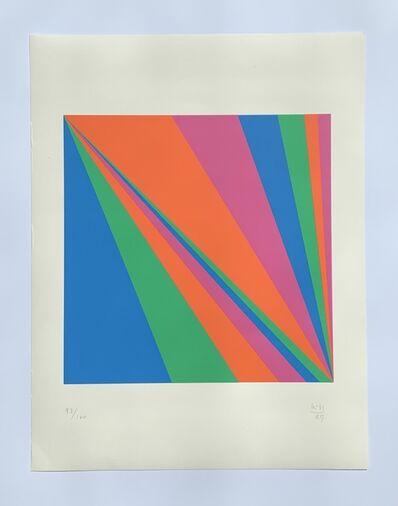 Max Bill, 'einheit aus zwei verdichtungen', 1989