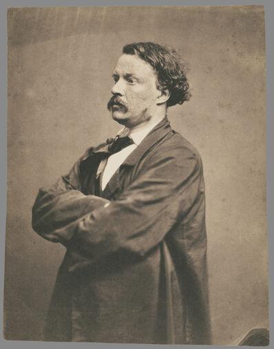 Nadar, 'Self portrait in Smock F'lix Nadar', 1855-1857