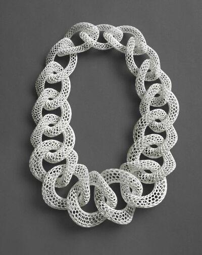 Doug Bucci, 'Islet | White, Neckpiece', 2012