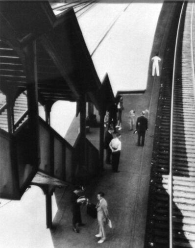 André Kertész, 'The Station, Poughkeepsie', 1937
