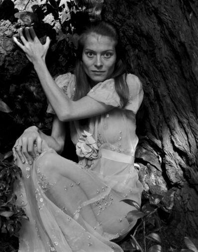 Judy Dater, 'Twinka and Tree', 1970