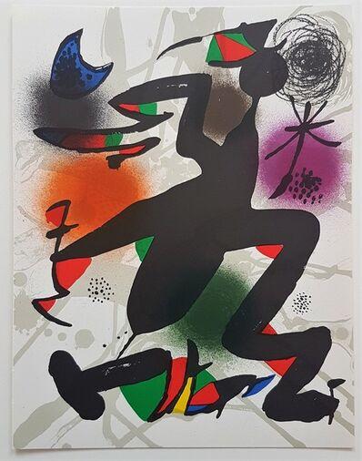 Joan Miró, 'Lithographie Originale IV', 1977