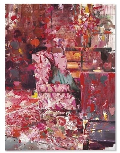 Adrian Ghenie, 'Pie Fight Interior 9'