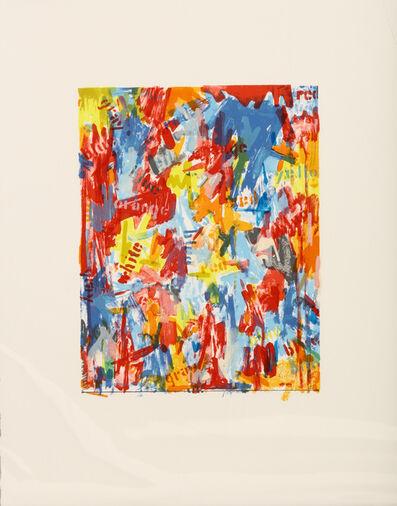 Jasper Johns, 'False Start I', 1962